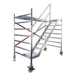 Aluminiumtreppe 2.50x0.60cm